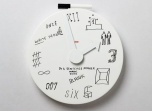 Blank Wall Clock Alessi
