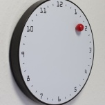 Clock Wall Magnetic Ball