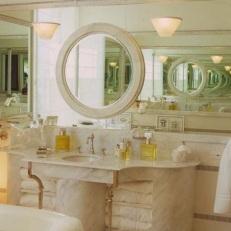 Ефектът на две срещуположно разположени огледала.