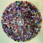 Paper wall clock by Etsy