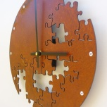 Puzzle Wall Clock V by All15Designs
