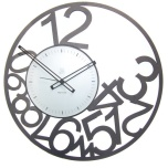 Scrambled Numbers Wall Clock