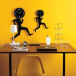 Uomino Wall Clock By Diamantini & Domeniconi