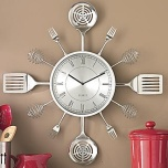 Utensil Wall Clock
