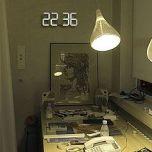 Vadim Kibardin White Wall Clock