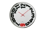 Wall Clock W300S20WR by Oliver Hemming