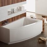 Асиметрична вана Еsquisse - 160 x 100 см