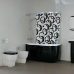 Малките вани могат да бъдат и красиви. Поиграйте си с аксесоарите.