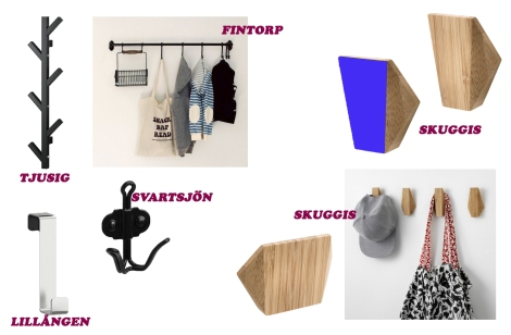 IKEA закачалки